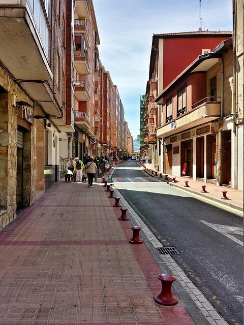 Street, Barakaldo, Euskadi, Sidewalk