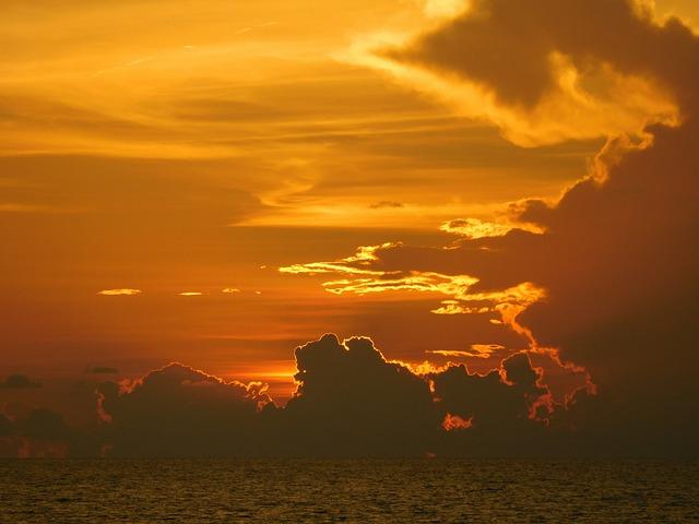 Sunset, Sunset Sky, Evening Light, Summer