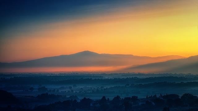 Sunset, Panorama, Dawn, Nature, Sun, Sky, Evening