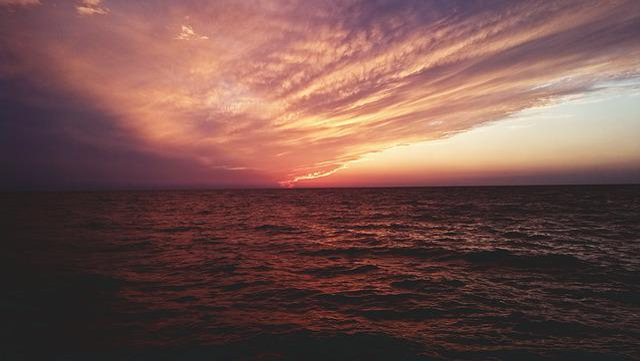 Black Sea, Sky, Beach, Evening, Evening Shore