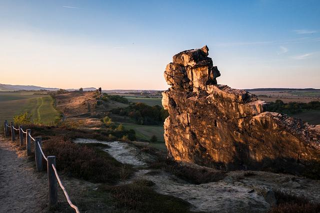 Devil's Wall, Resin, Rock, Evening Light, Evening Sun