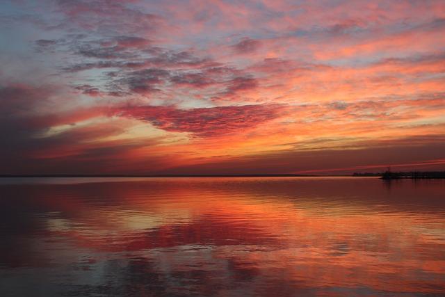 Sunset, Dusk, Dawn, Sun, Evening