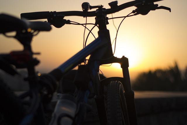 Bike, Sunset, Evening, Outdoor, Sunrise, Bicycle