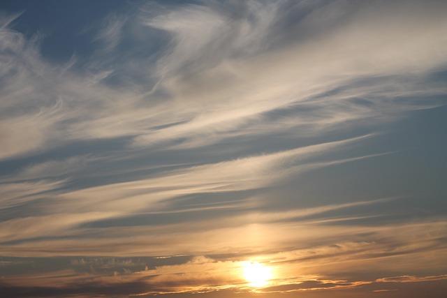 Sky, Sunset, Clouds, Weather, Cirrus, Cloud, Evening