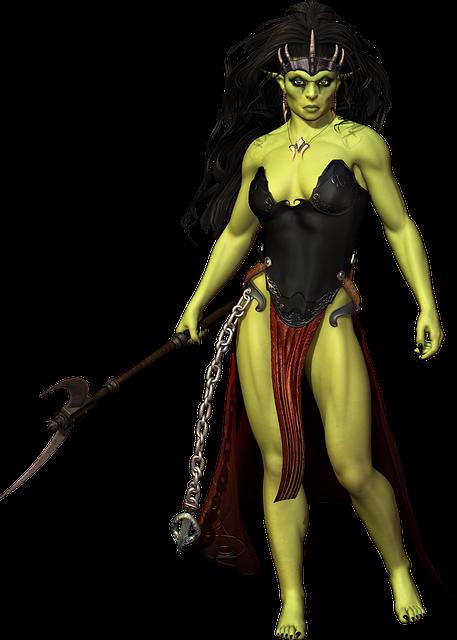 Orc, Character, Fantasy, Monster, Warrior, Magic, Evil