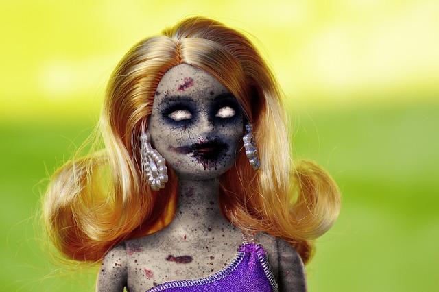 Free photo Demoniac Undead Nun Sister Possessed Zombie Dark - Max Pixel