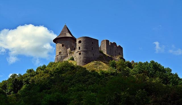Summer, Mountain, Castle, Nature, Excursion