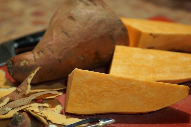 Sweet Potatoes, Batáta, Exfoliate, Peels, Vegetables