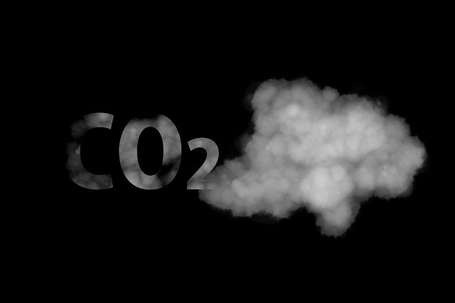 Co2, Exhaust Gases, Climate Change, Road Sign