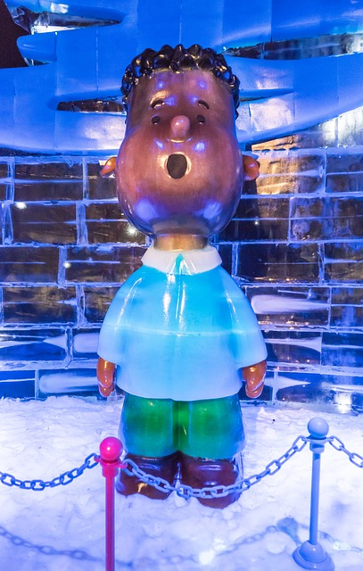 Ice Sculptures, Gaylord Palms, Exhibit