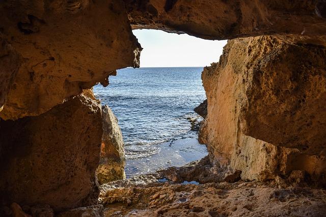 Cave, Exit, Geology, Nature, Sea, Cavo Greko