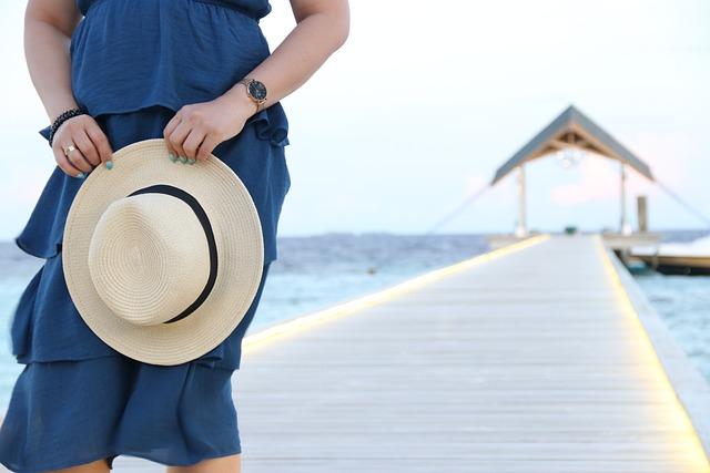 People, Fashion, Tropical, Hat, Maldives, Model, Exotic