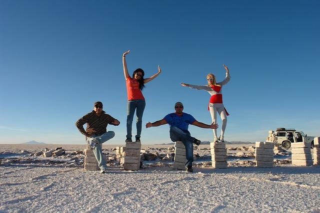 Salt, Salar Uyuni, Travel, Holiday, Exotico, People