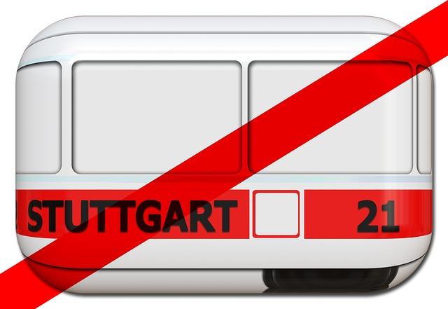 Stuttgart, Train, Expansion, Project, Stylized