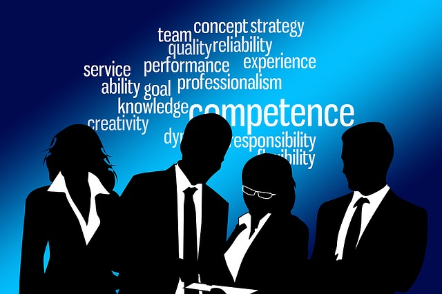 Businessmen, Competence, Experience, Flexibility, Know