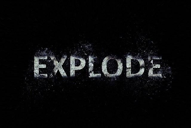 Explode, Text, Scattering, Effect, Wallpapper, Letters