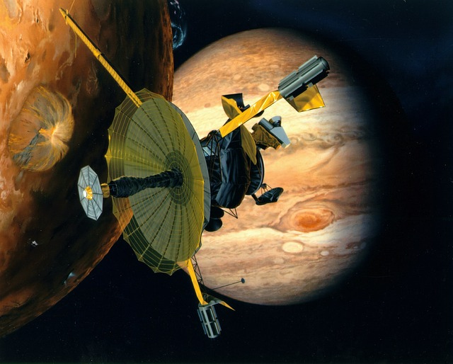 Galileo, Jupiter, Space, Sky, Outer-space, Exploration