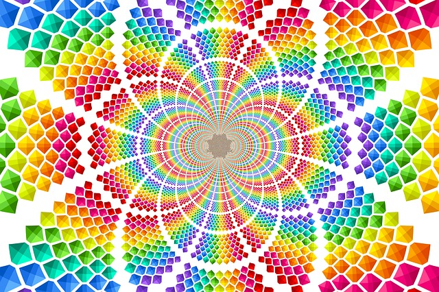 Color, Background, Structure, Lines, Explosion, Pop