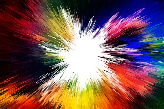 Explosion, Blow Up, Blowing Up, Color, Star, Colorful