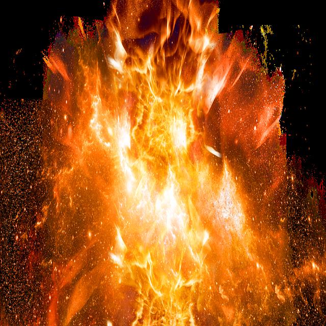 Explosive, Fire, Bomb