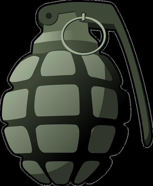 Hand Grenade, Grenade, Explosive, Military, Weapon