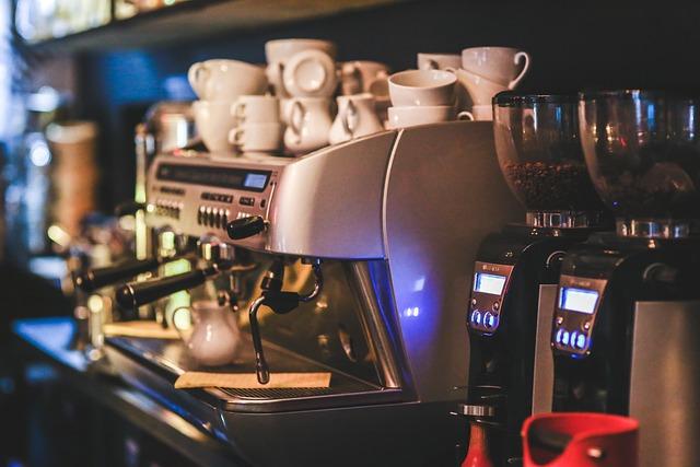 Coffee, Machine, Express, Maker, Restaurant