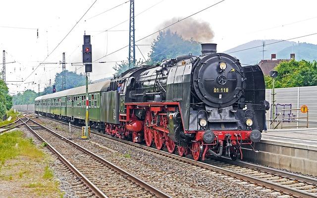 Steam Locomotive, Express Train, Special Crossing