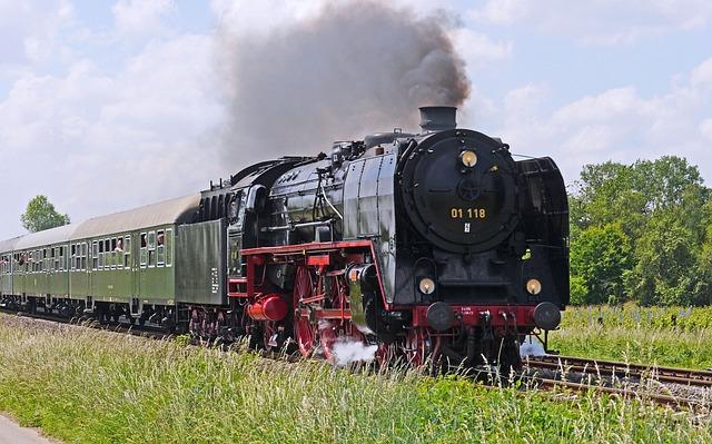 Steam Locomotive, Voildampf, Express Train, Br01, Br 01