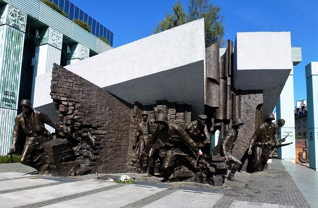 Monument, Poland, Warsaw, Expression, Communication