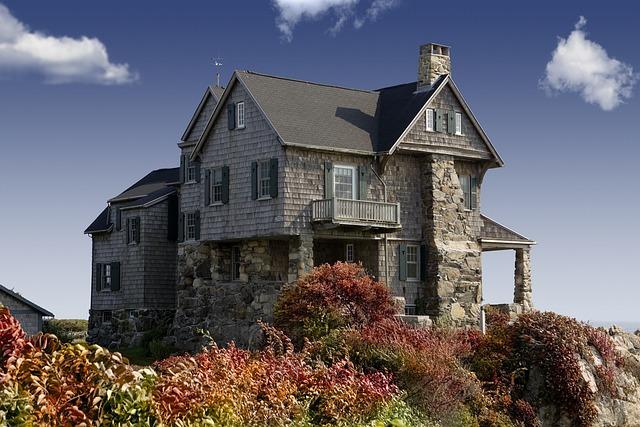 House, Home, Facade, Exterior, Stone House, Stoneworks