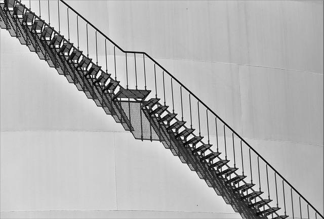 Architecture, Stairs, External Staircase, Handrail