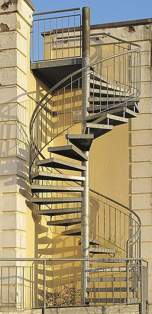 Free Photo External Staircase Spindle Staircase Spiral Staircase   Max Pixel
