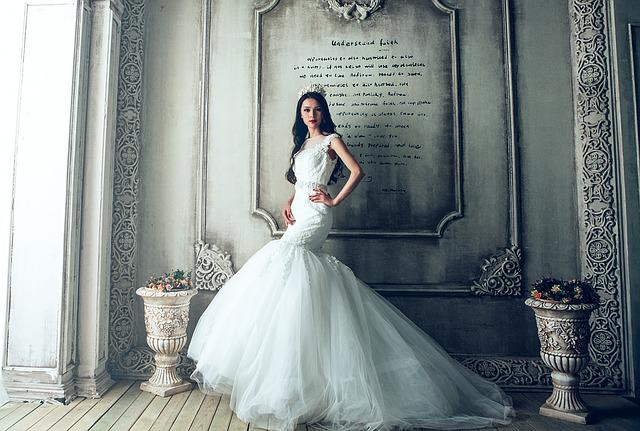 Wedding Dresses, Bride, Extravagant, Fancy, Luxury