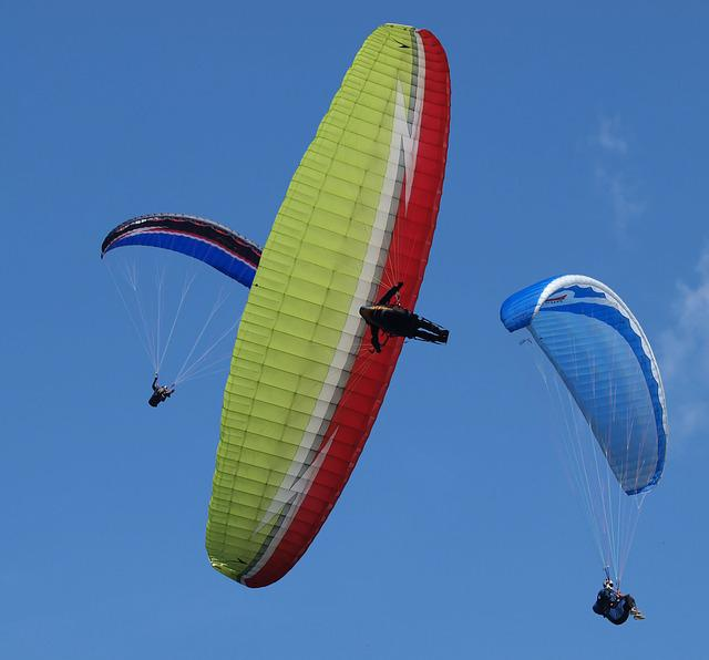 Paragliding, Sport, Extreme, Sports, Mountain Sport