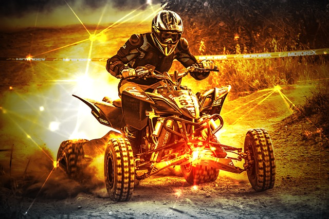 Quad Bike, Action, Adventure, Sport, Extreme, Offroad