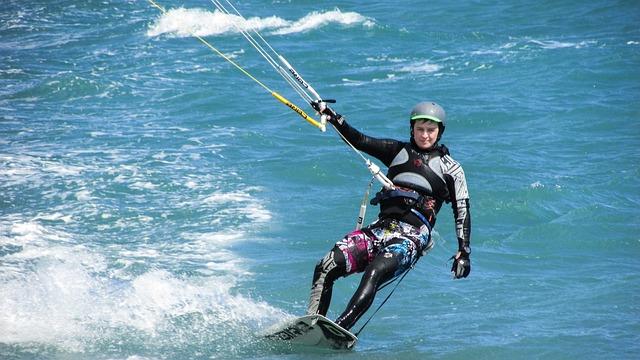Kite, Surf, Sport, Sea, Surfer, Active, Extreme, Wind