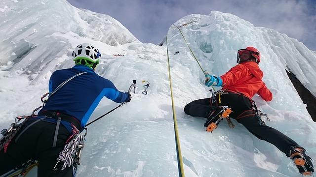 Ice Climbing, Ice, Climb, Extreme Sports, Frozen