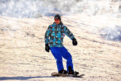 Snowboarding, Man, Winter, Extreme Sports, Snowboard
