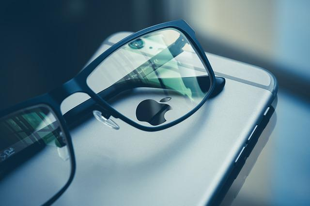Apple, Eye Glasses, Iphone, Mobile Phone, Smartphone