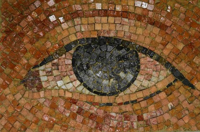New York, Eye, Subway, Mosaic