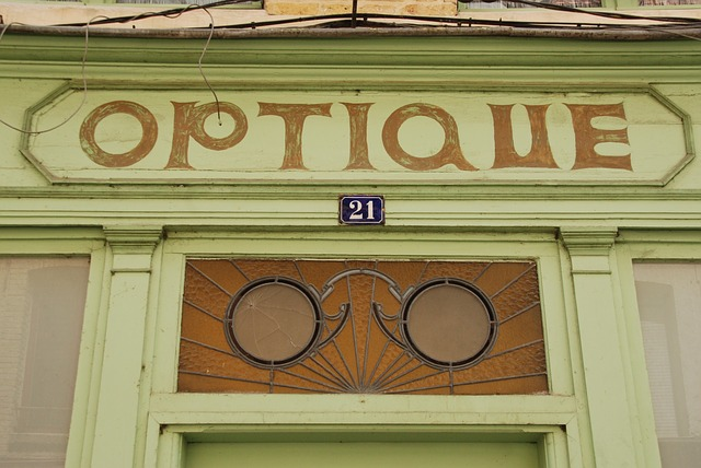 Optics, Glasses, See, Eye, Facade, Shop