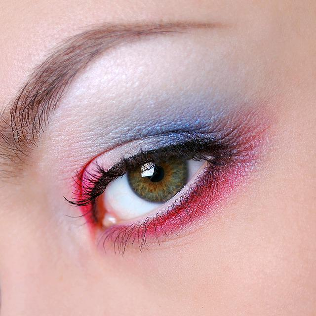 Eyes, Makeup, Eye Shadow, Up, Woman, Macro, Girl