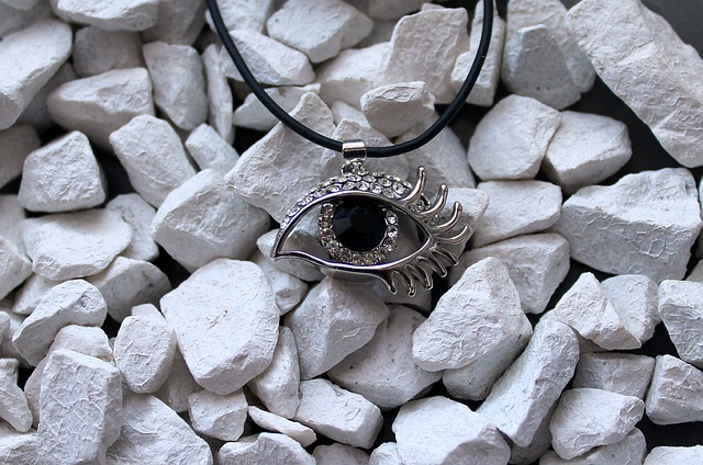 Eye, Ornament, Pendant, Jewelry, The Stones, Texture