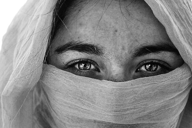 Woman, Headscarf, Arabic, Veiled, Islam, Eyebrows, Eyes