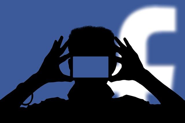 Social Media, Man, Smartphone, Eyes, Camera, Background