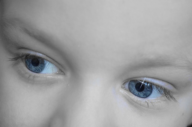 Dreamy, Eyes, Look, Baby, Background, Dream, Blue, Eye