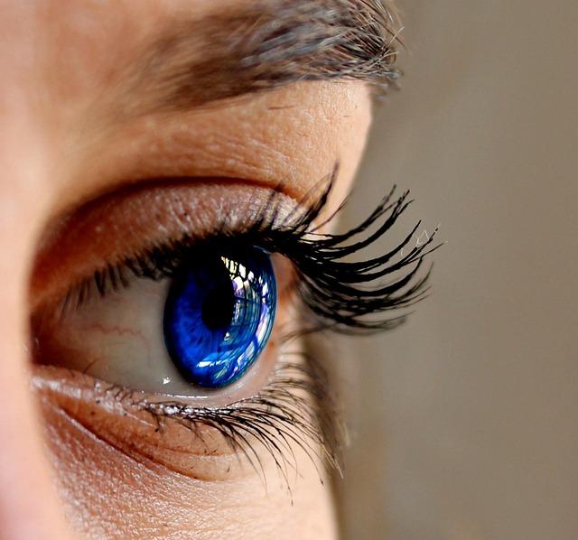 Eyes, Blue, Close, Eyelashes, Woman Face