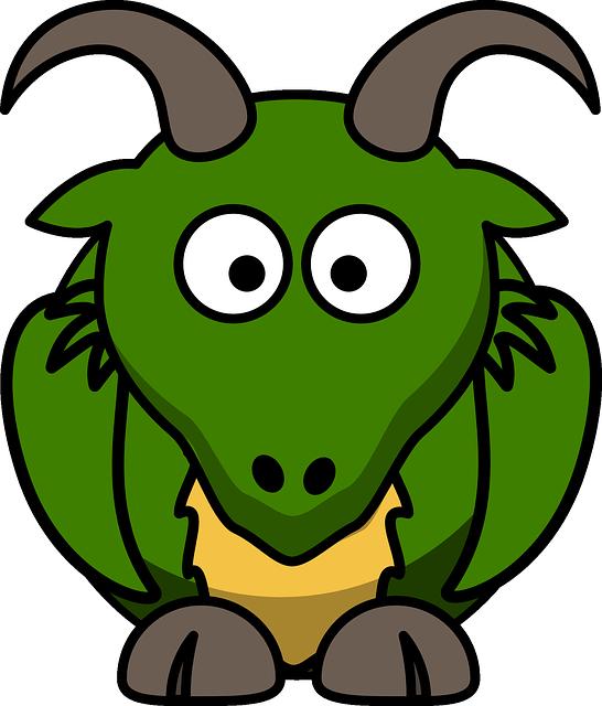 Chamois, Animal, Cute, Goat, Mammal, Green, Horn, Eyes