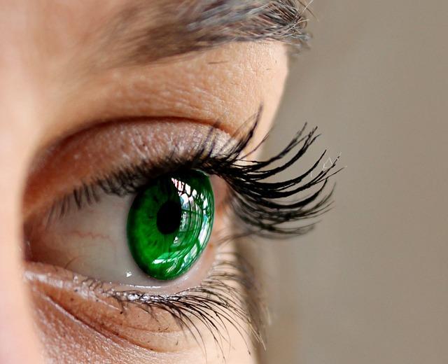 Eyes, Green, Close, Eyelashes, Woman Face