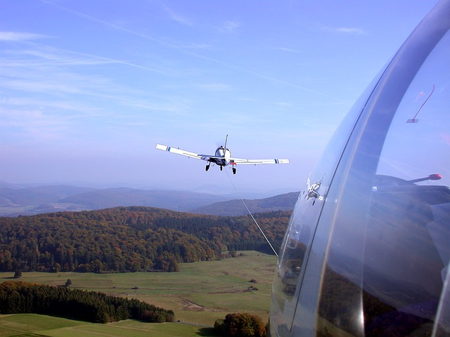Gliding, F-slow, Aircraft Towing, Moraine, Air Sports